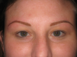 After Picture (eyebrows)